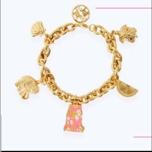 Lilly Pultizer Charm Bracelet still in wrapping